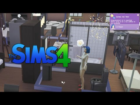 """Sims of Our Lives (Episode 11 """"The Angry, The Artistic, & The Pregnant"""")"""