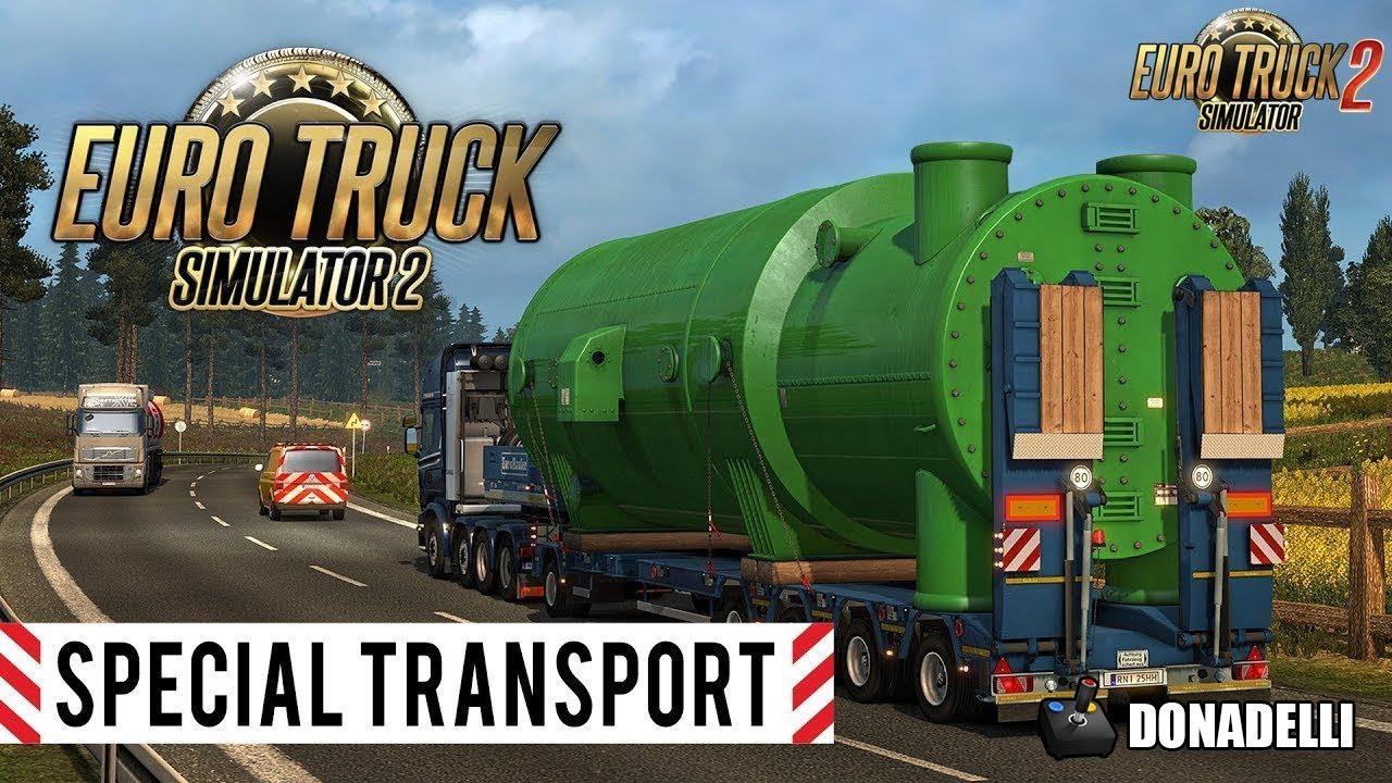 euro truck simulator 2 dlc cargas especiais special. Black Bedroom Furniture Sets. Home Design Ideas