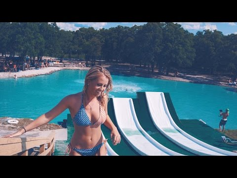 Check Out This Amazing Super Water Slide Built On A Texas Lake
