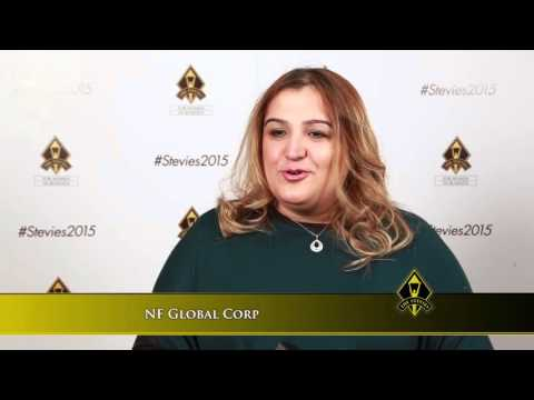 NF Global Corp wins in the 2015 Stevie® Awards for Women in Business
