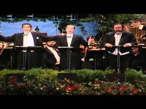 Los tres tenores. Nessun Dorma Turandot Puccini. 1994 Los Angeles