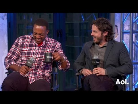 Casey Affleck and Anthony Mackie On Triple 9 | AOL BUILD