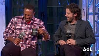 """Casey Affleck and Anthony Mackie On """"Triple 9"""" 