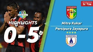 Mitra Kukar vs Persipura Jayapura: 0-5 - All Goals & Highlights - Liga 1