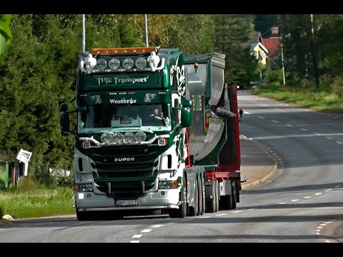 Best Of Scania \8/ Sound 2014 - Ржачные видео приколы