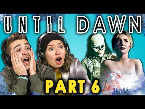 BATH TIME CUT SHORT!   UNTIL DAWN - Part 6 (React: Let's Plays)
