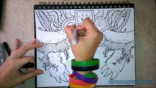 How to draw Omega Flowey