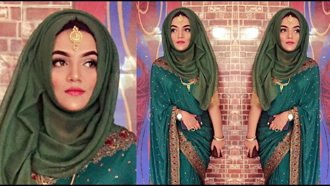 Wedding Party Hijab Style / Hijab Style with Tikli