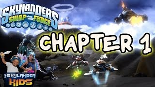 Lets Play Skylanders Swap Force: Part 1 - Mount Cloudbreak 1 of 2 (Chapter 1)