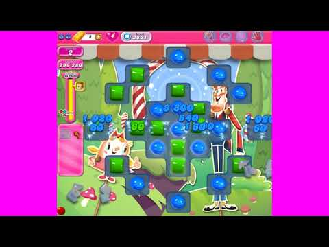 Candy Crush Saga level 2821 ~ no boosters ~ REALLY FUN LEVEL!