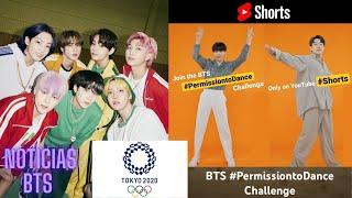 BTS APARECE en JUEGOS OLIMPICOS TOKYO 2020 /PERMISSION TO DANCE CHALLENGE (Tutorial/Cómo Participar)