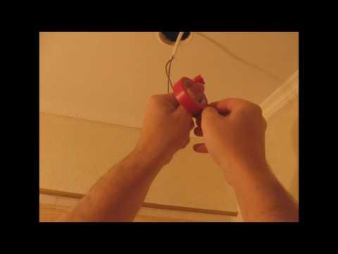 Как установить точечные светильники своими руками - видео инструкция.