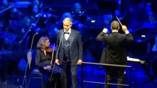 Andrea Bocelli - Nessun Dorma - Cleveland - 12/1/17