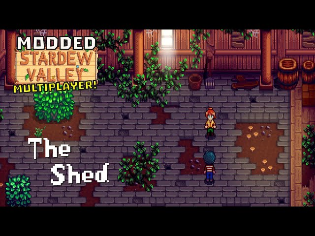 Ep 13 - The Shed (Stardew Valley - Multiplayer - Modded)