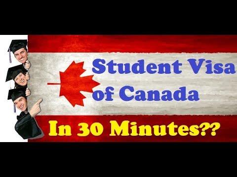 How to Get Student Visa of Canada  | Canada Visa