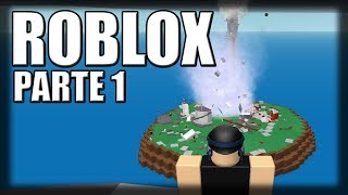Playing Roblox-more natural disasters! -Part 1