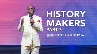 Barnabas:The Power of Encouragement   Pastor Yinka Dada History Makers 7  Father's Day June 20, 2021