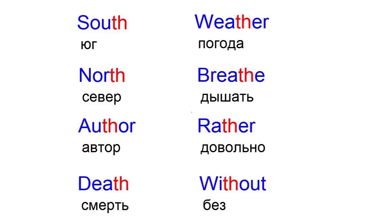 Английский 2 класс произношение слов