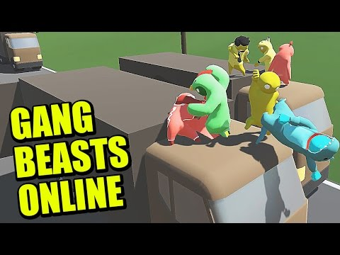 how to play online gang beasts