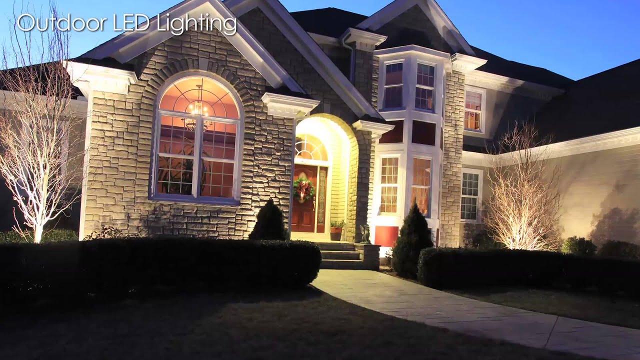 outdoor led lighting installations long island autumn leaf