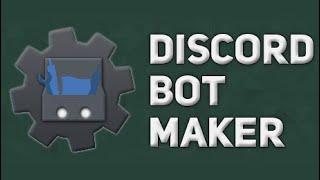 discord Bot Maker #1 - Создание бота в Дискорд
