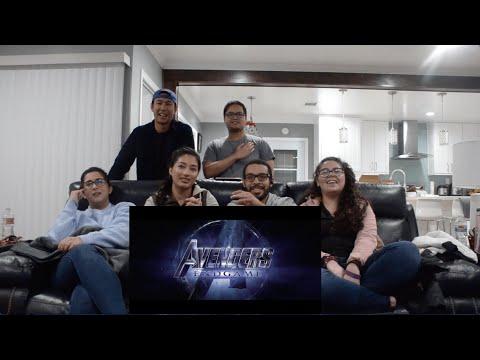 Marvel Studios' Avengers: Endgame Official Trailer | Reaction + Discussion