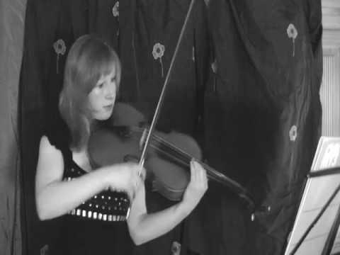 Viola solo 'vivace' Julia Rebekka Adler plays Druzhinin Дружинин