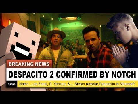 🎵 DESPACITO MINECRAFT PARODY (Luis Fonsi ft. Daddy Yankee, Justin Bieber) 🎵