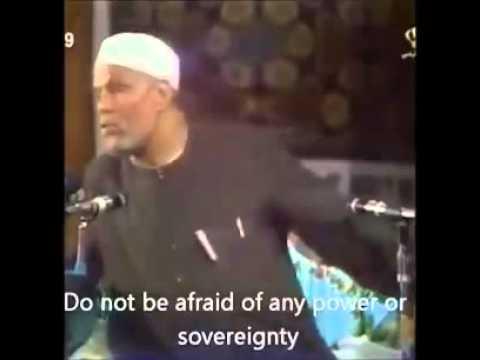 Sheikh Muhammed Al-Sharawi- A love story with Allah [ENGLISH TRANSLATION]. الشيخ محمد الشعراوي