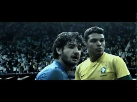 Brazil vs Brazil - Nike Commercial 2012 Starring Neymar Ronaldo Pato 1080p HD and more