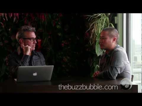 Tony Hsieh Interview - Social Media, Community Integration - Part 3 on The BuzzBubble