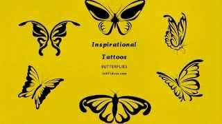 Butterfly Tattoos - hand drawn video tattoos