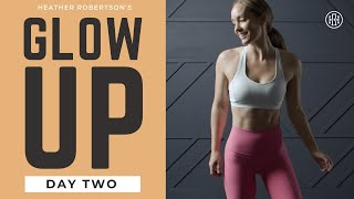⭐GLOW UP CHALLENGE // DAY 2: Cardio \u0026 Abs Workout