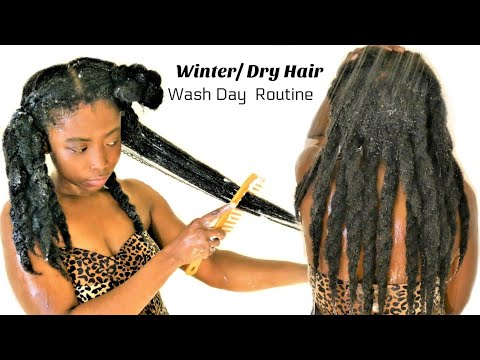 Intense Moisture Retention  Wash Day Routine For Hair Growth | Wash ➡️ Style| Natural Hair