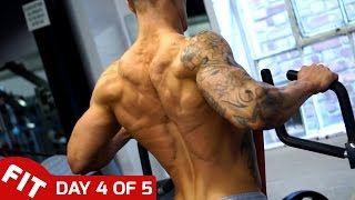 BACK & BICEPS - ROSS DICKERSON DAY 4 OF 5 DAY SPLIT