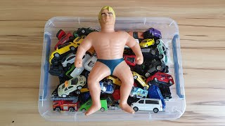 video for kids review cars for kids with stretch armstrong toys
