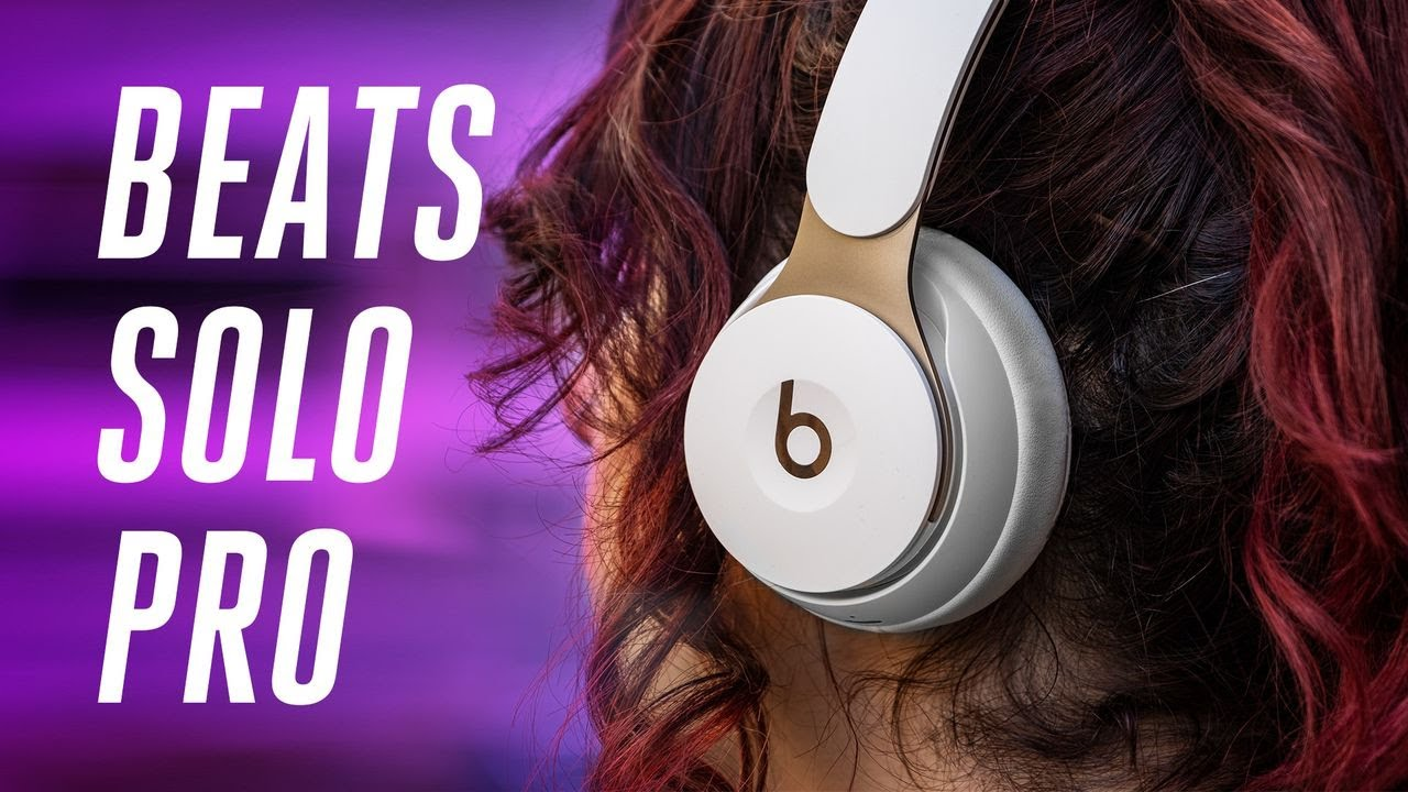 Beats Solo Pro Review On Ear Noise Cancellation Finally Youtube