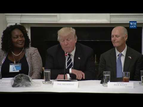 President Trump Hosts Infrastructure Summit with Governors and Mayors