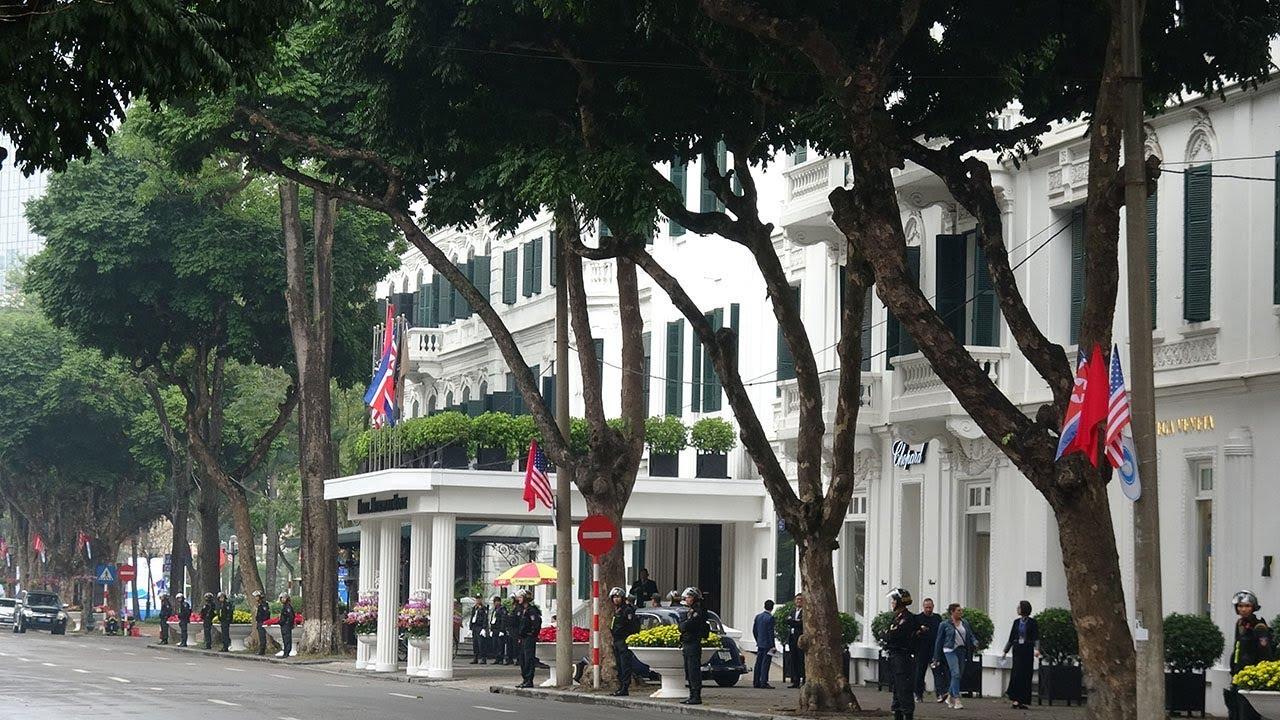 Anh ninh siết chặt ở khách sạn Metropole trước giờ Trump – Kim găp nhau