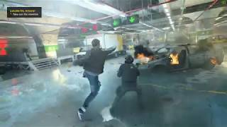 Quantum Break (PC) - Unlimited powers and ammo gameplay