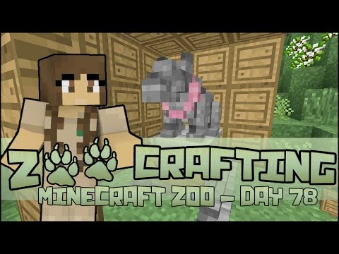 A Statue for Lily-Girl!! 🐘 Zoo Crafting: Season 2 - Episode #78