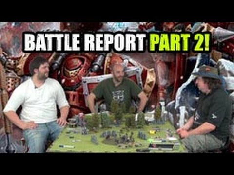 Warmachine And Hordes Demo Game Playing the Game Pt2