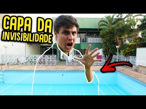 COMPREI UMA CAPA DE INVISIBILIDADE !! ( REAL ) [ REZENDE EVIL ]