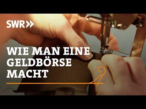 Handwerkskunst! Wie man eine Geldbörse macht | SWR Fernsehen