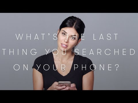 100 People Tell Us the Last Search on Their Phone