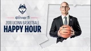 2018-19 UConn Men's Basketball Meet the Coaches Happy Hour