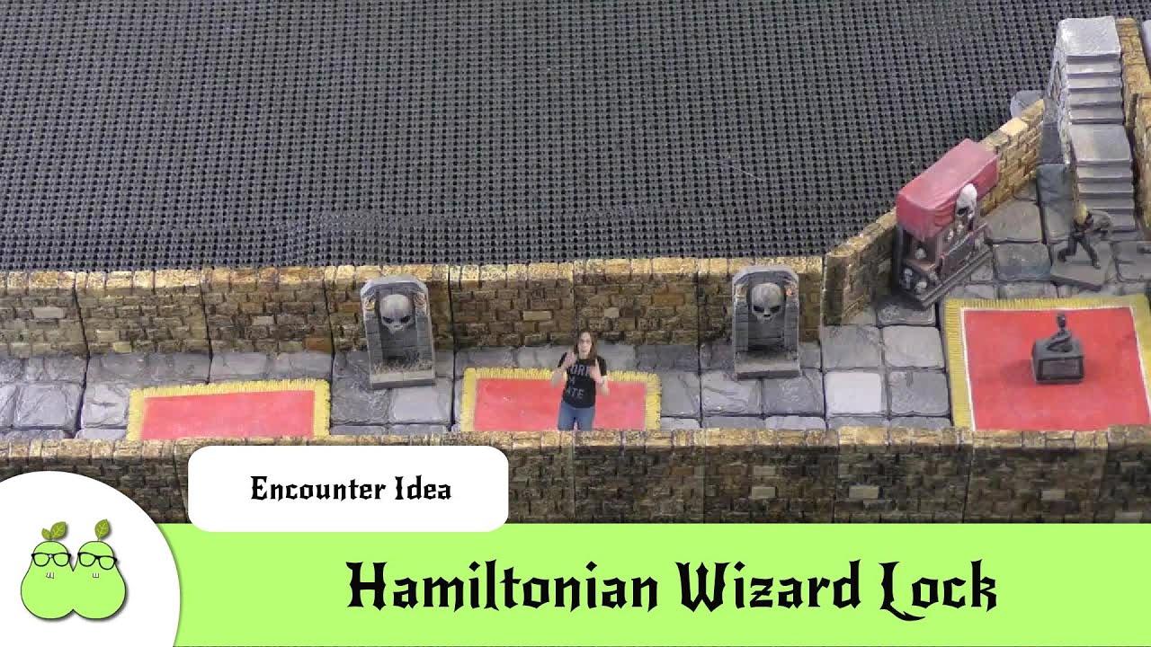 Hamiltonian Wizard Lock - D&D/Pathfinder Fantasy Encounter Ideas