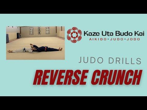judo drill reverse crunch