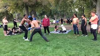 Peter Kim Drum Circle Boxing Exhibition 2017 Highlights