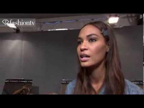 Joan Smalls: Model Talk at Fashion Week Spring Summer 2013